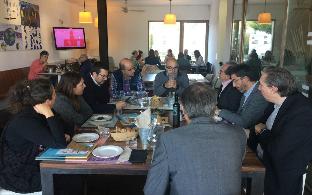 Asamblea Anual de socios y comida de navidad 2018, con la participación del Director del SOIB, Pere Torrens