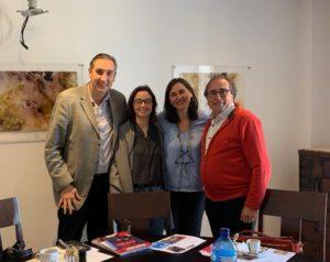 Comida mensual de socios. Ponente invitado Fundación Vicente Ferrer