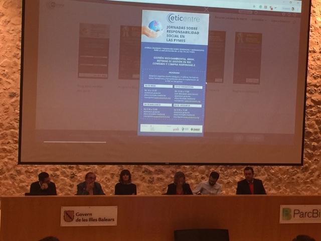 Charla Coloquio y 4 talleres formativos para pymes organizados por Eticentre en Mallorca, Menorca, Ibiza y Formentera